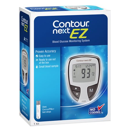 Contour Next EZ Blood Glucose Monitor Model, 7252