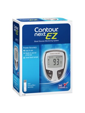 Contour Next EZ Blood Glucose Monitor Model, 7252