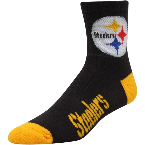 NFL - Pittsburgh Steelers Team Color Quarter Socks