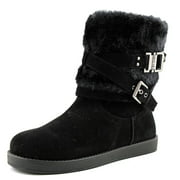 G By Guess Azzie Women  Round Toe Synthetic Black Winter Boot