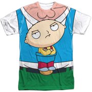Family Guy - Stewie Carrier (Front/Back Print) - Short Sleeve Shirt - Large