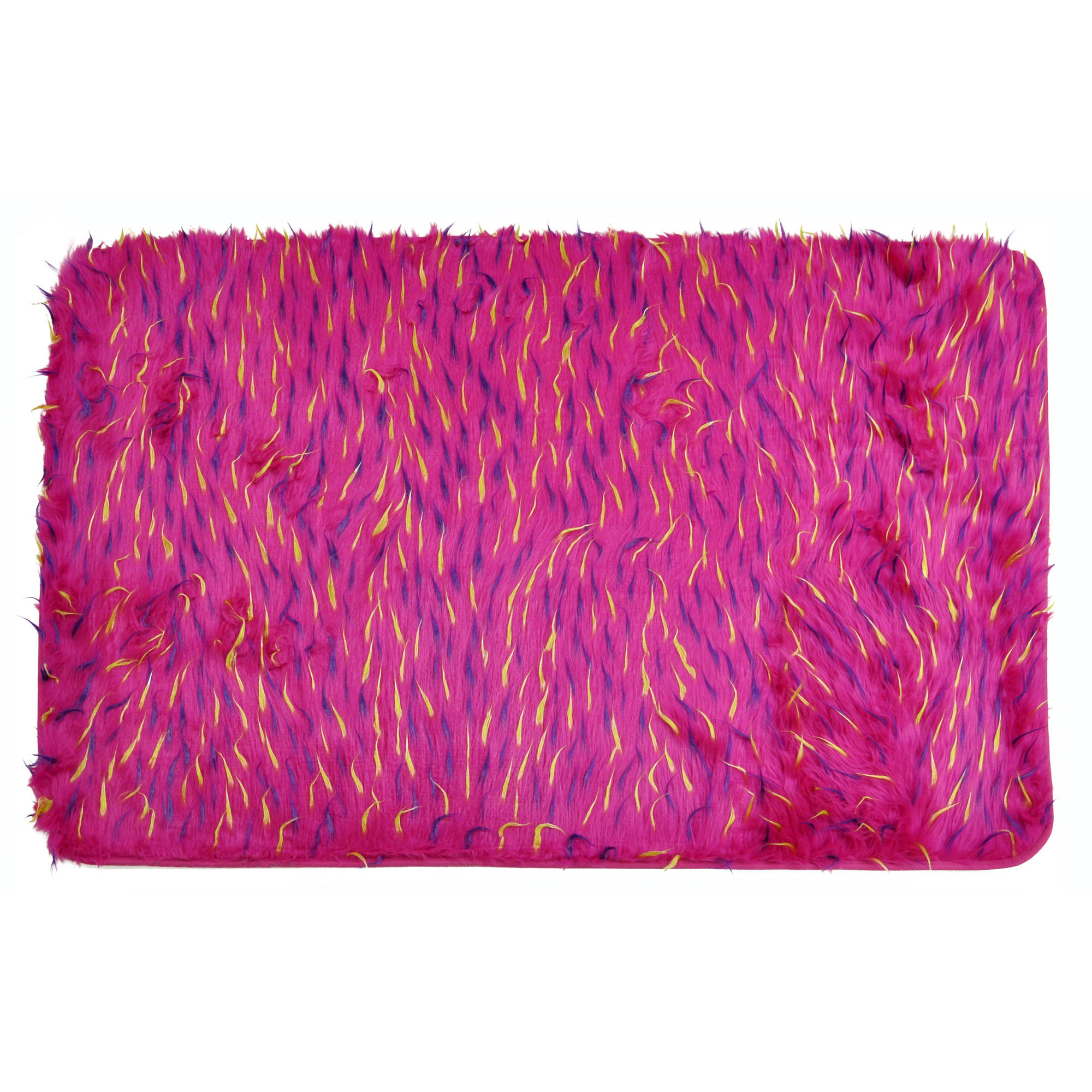 your zone pink spiker rug
