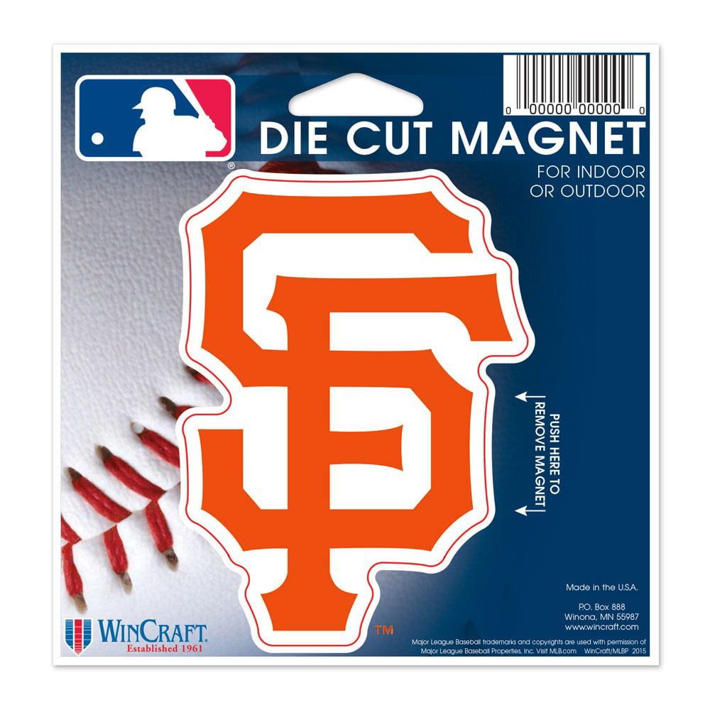"San Francisco Giants WinCraft 5"" Die-Cut Car Magnet - No Size"