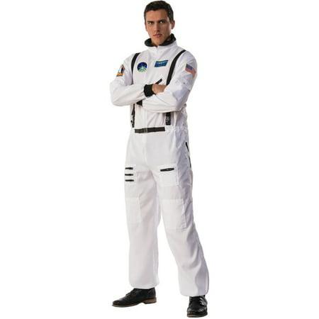 Space Suit Costumes (Men's Space Commander Astronaut Moon Walk Suit)