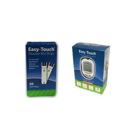 Easy Touch Combo 200 Strips and 1 Meter