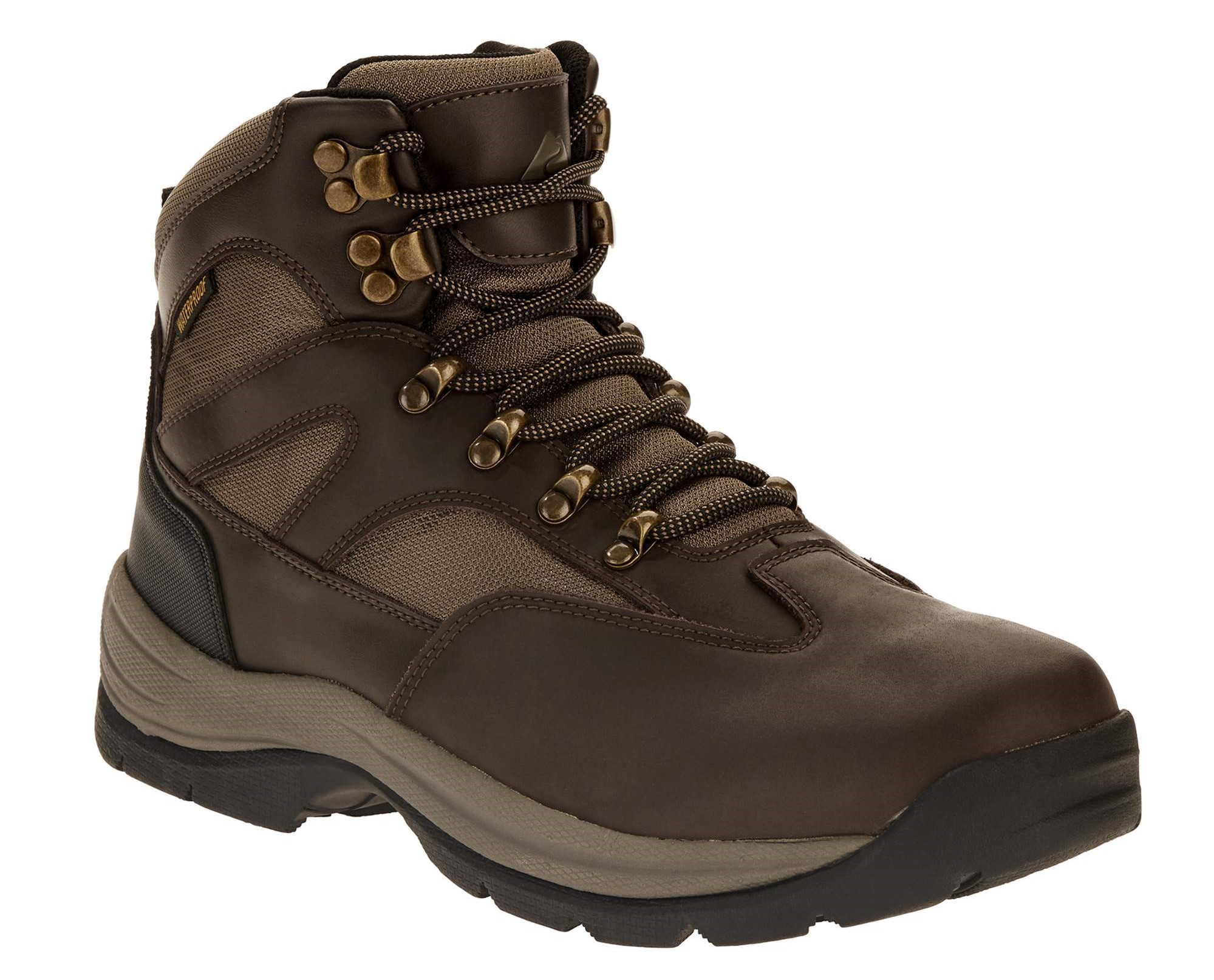 Boots earrings Hiking boot earrings bronze with hemp shoelaces.