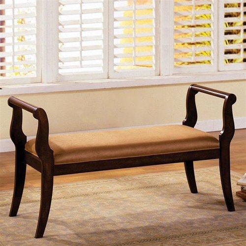 Furniture of America CM-BN6621 Swansea Bench