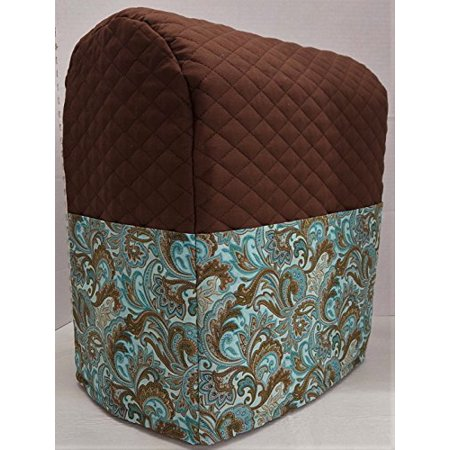 Brown Amp Teal Paisley Kitchenaid Stand Mixer Cover