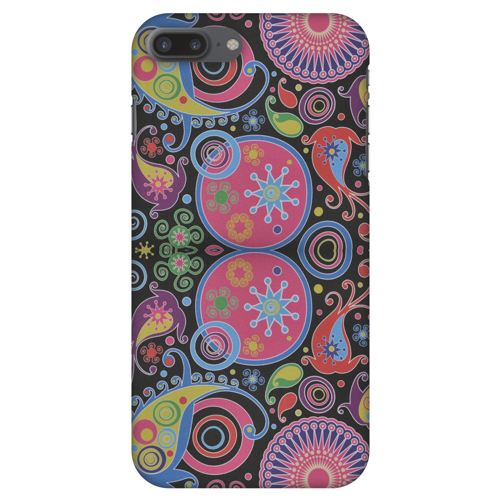 iPhone 8 Plus Case - Jaipur Buti, Hard Plastic Back Cover. Slim Profile Cute Printed Designer Snap on Case with Screen Cleaning Kit