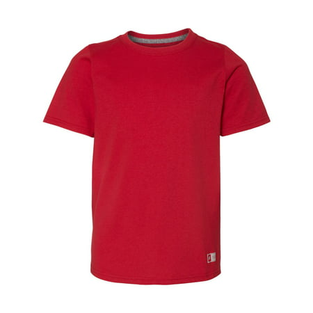 Russell Athletic Boy's Essential 60/40 Performance T-Shirts, Style 64STTB Russell Athletic Ribbed T-shirt