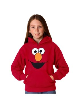 Sesame Street Elmo Face Youth Hoodie