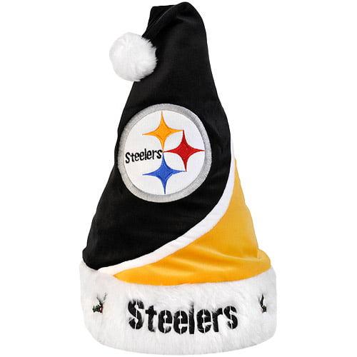 Santa Hat, Steelers