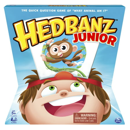 HedBanz Jr. Family Board Game for Kids Age 5 And Up](Halloween Kid Games School)