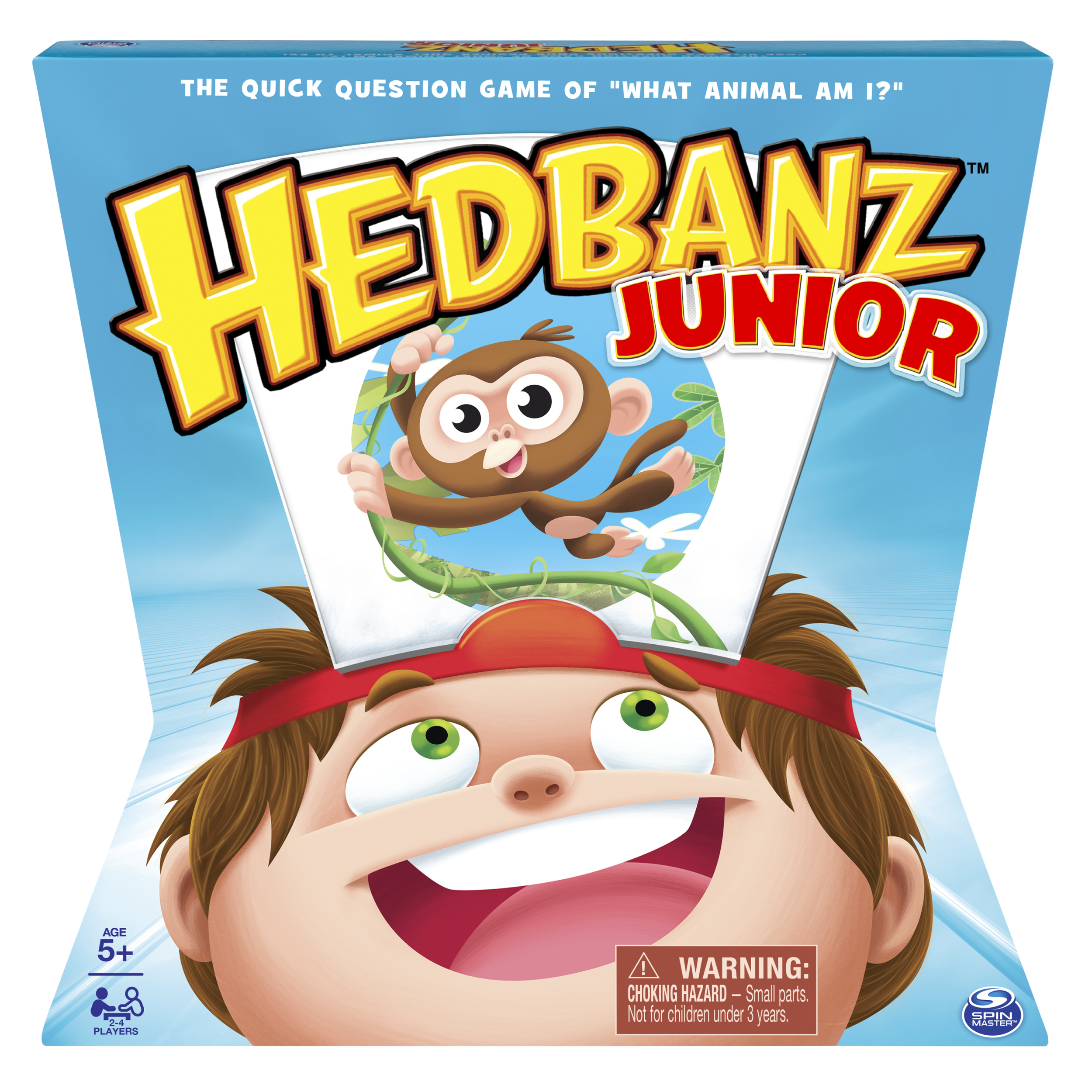 HedBanz ‐ HedBanz Jr. Family Board Game for Kids Age 5 And Up