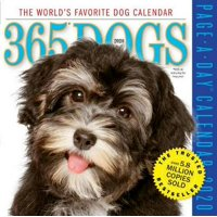 2020 365 Dogs Colour Page-a-day Calendar