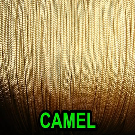 25 yards: 1.8 mm camel professional grade braided lift cord for blinds & shades ()