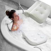 3D Mesh Neck Back Premium Waterproof Luxury Comfortable Bath Spa Pillow Cushion