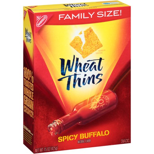 Mondelez Wheat Thins  Snacks, 15 oz