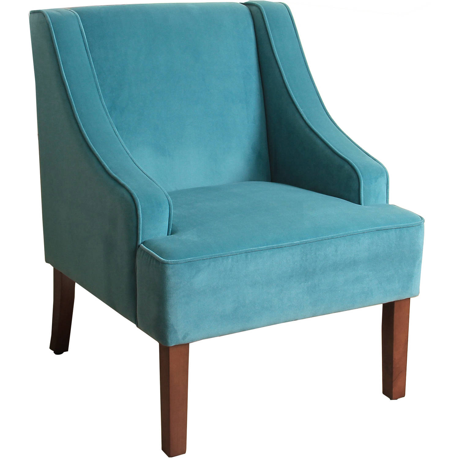 Fine Swoop Arm Accent Chair: HomePop Classic Swoop Arm Accent Chair, Multiple Colors