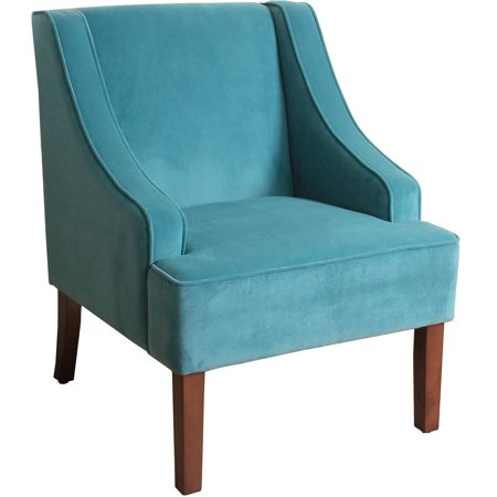 HomePop Classic Swoop Arm Accent Chair, Multiple Colors ()