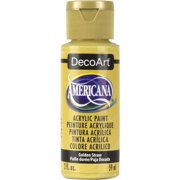 DecoArt Americana Acrylic Color, 2 oz., Golden Straw