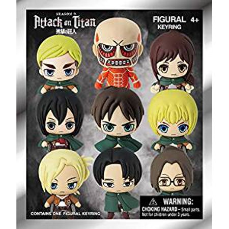 Key Chain - 3D PVC Foam Collectible - Attack on Titan New 70155
