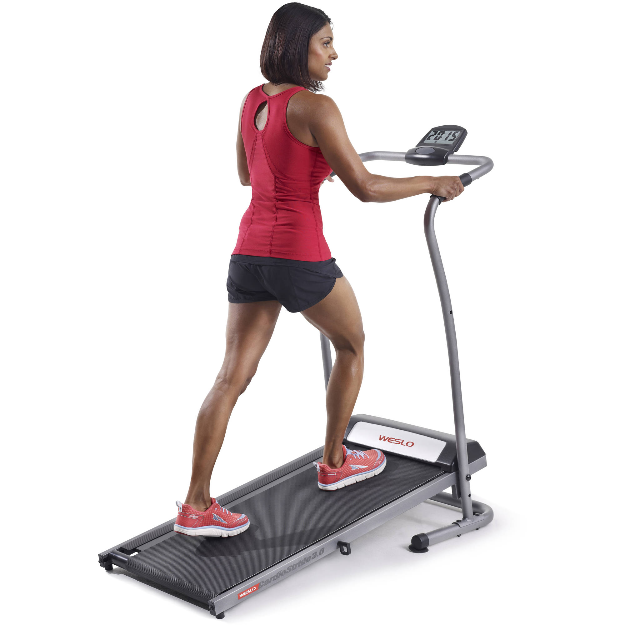 Weslo CardioStride 3.0 Manual Treadmill with 2 Level Incline and Large Display