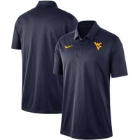 West Virginia Mountaineers Nike Franchise Performance Polo - Navy