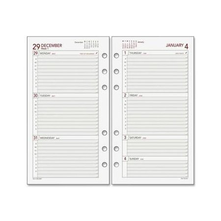 Day Runner Express 063285Y Planning Page DRN063285Y Day Runner Calendar