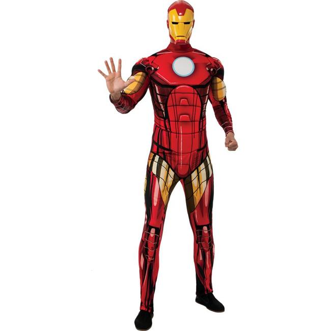 Morris Costumes RU880669 Iron Man Dlx Adult