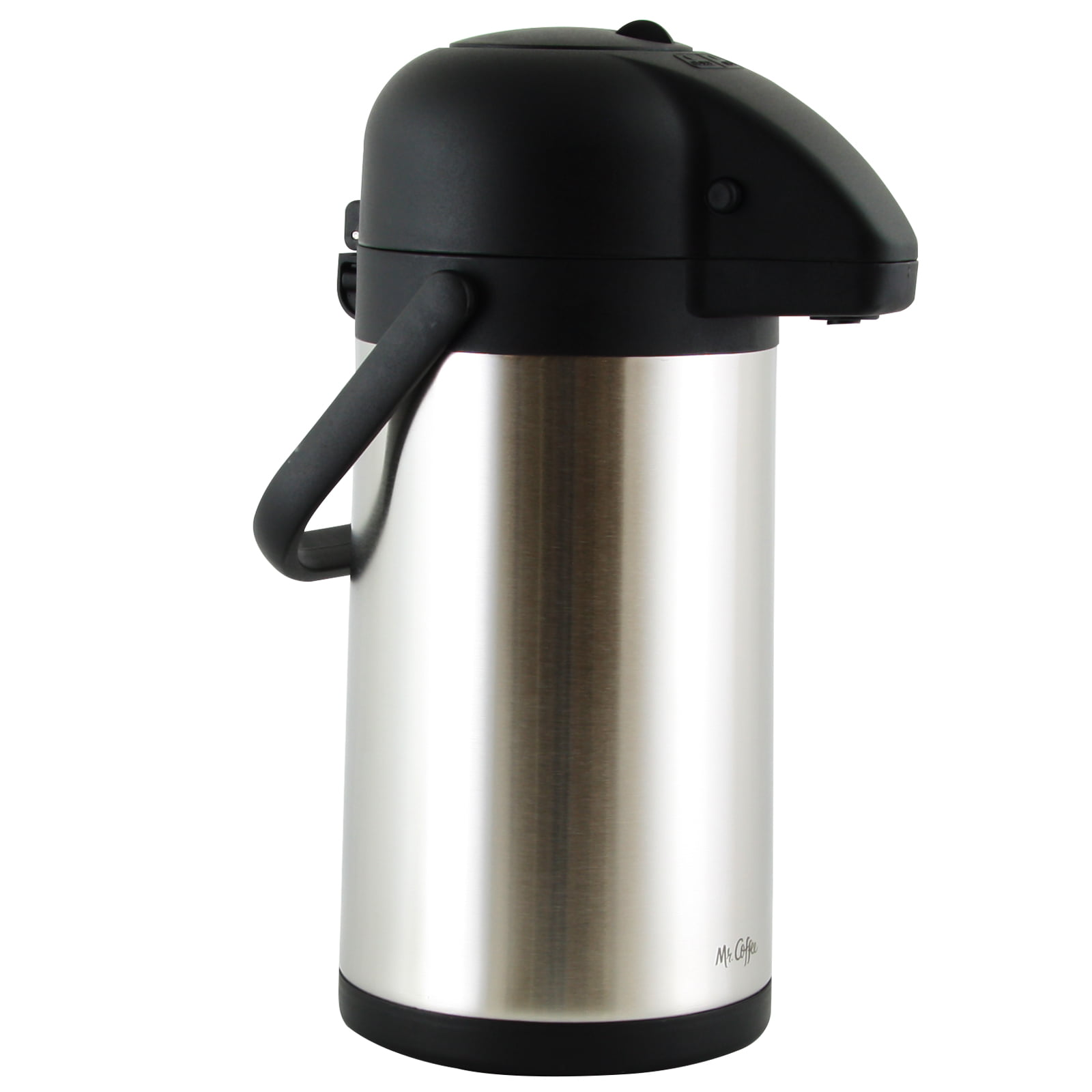 Mr. Coffee Javamax 2.24 Quart Stainless Steel Vacuum Sealed Double Wall Airpot