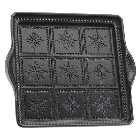 Nordic Ware Snowflake Shortbread Pan, Grey