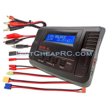 iMAX B680AC Air (6Amps, 80Watts): LiPo, LiIon, LiFe, NiCd, NiMh AC/DC Balancing Battery Charger XT60 EC3 HXT3.5mm Tamiya Mini (Lipo Battery Charger)