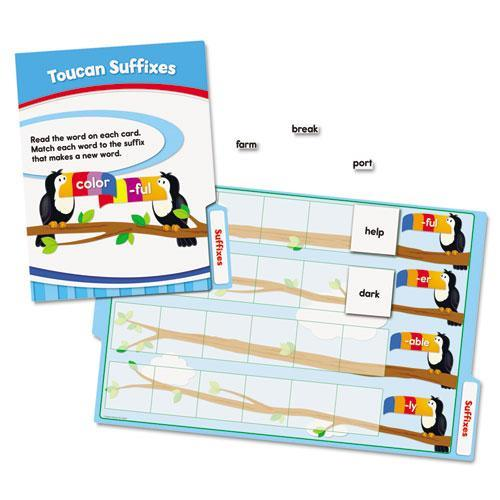 Carson-Dellosa 140311 CenterSOLUTIONS Language Arts File Folder Games, Grade 2