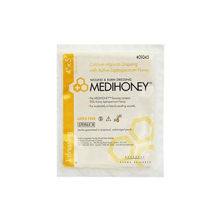 MEDIHONEY Calcium Alginate Dressing 4