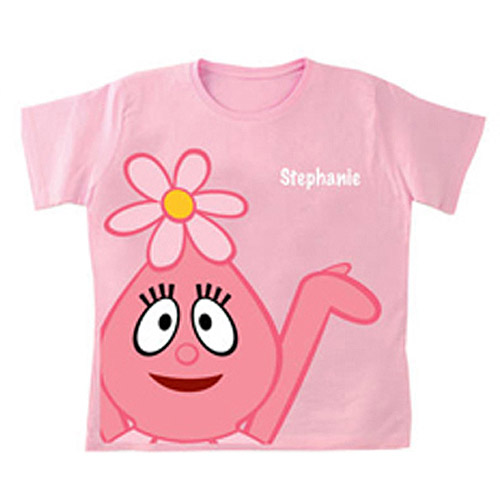 Personalized Yo Gabba Gabba! Foofa Girls' T-Shirt