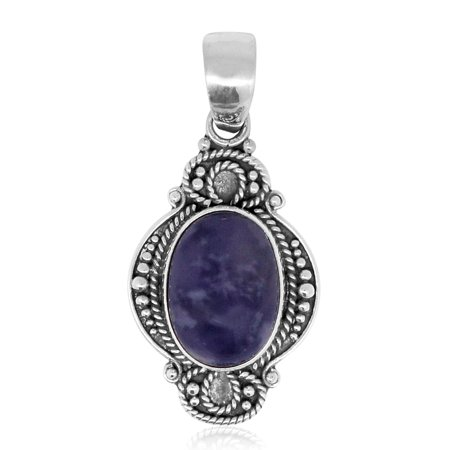f1173b8e1 Shop LC - Tiffany Fluorite Sterling Silver Pendant without Chain ...