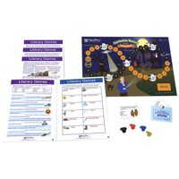 NewPath Literary Genres Learning Center Game, Grades 3 to 5