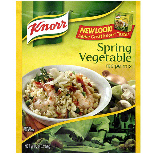 Knorr Spring Dried Vegetables, 0.9 oz (Pack of 12)