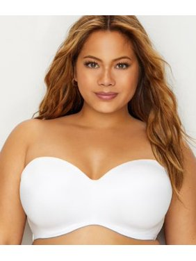 2c002aefdee Product Image Curvy Couture Smooth Multi-Way Strapless Bra