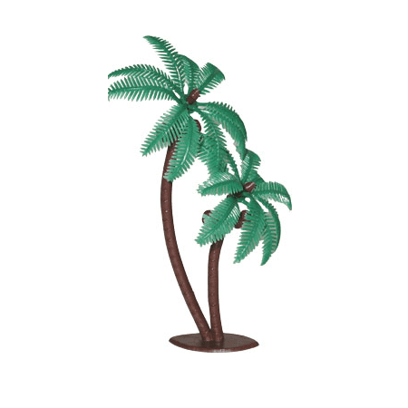 12pack Coconut Palm Tree Cake / Cupake Decoration Toppers](Coconut Decorations)