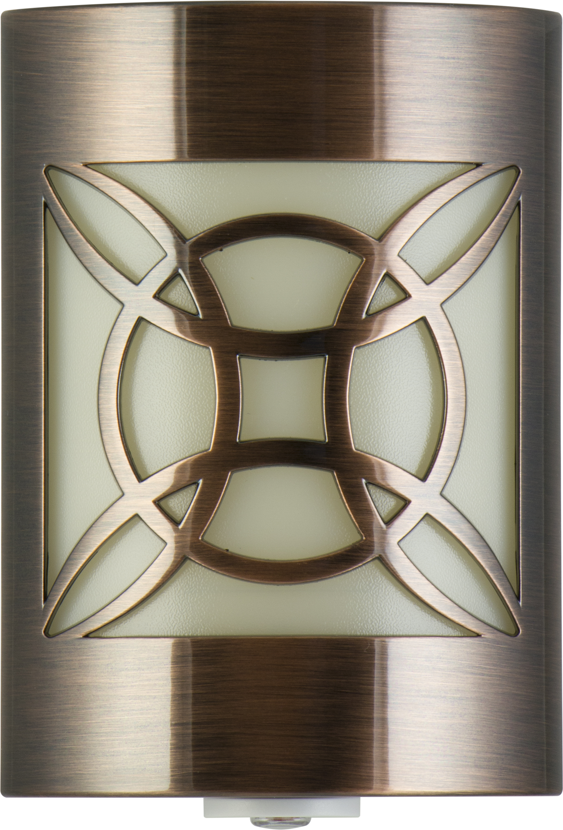 GE LED Decorative Night Light, Geometric, Oil Rubbed Bronze, 11332 by Jasco Products Company, LLC