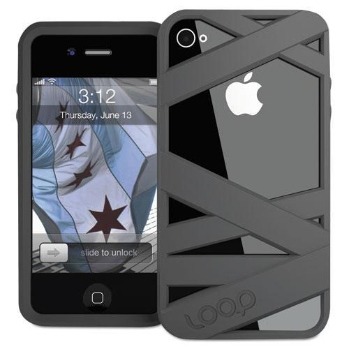 Loop Attachment loop2gpht Mummy Case For Iphone 4 4S - Graphite
