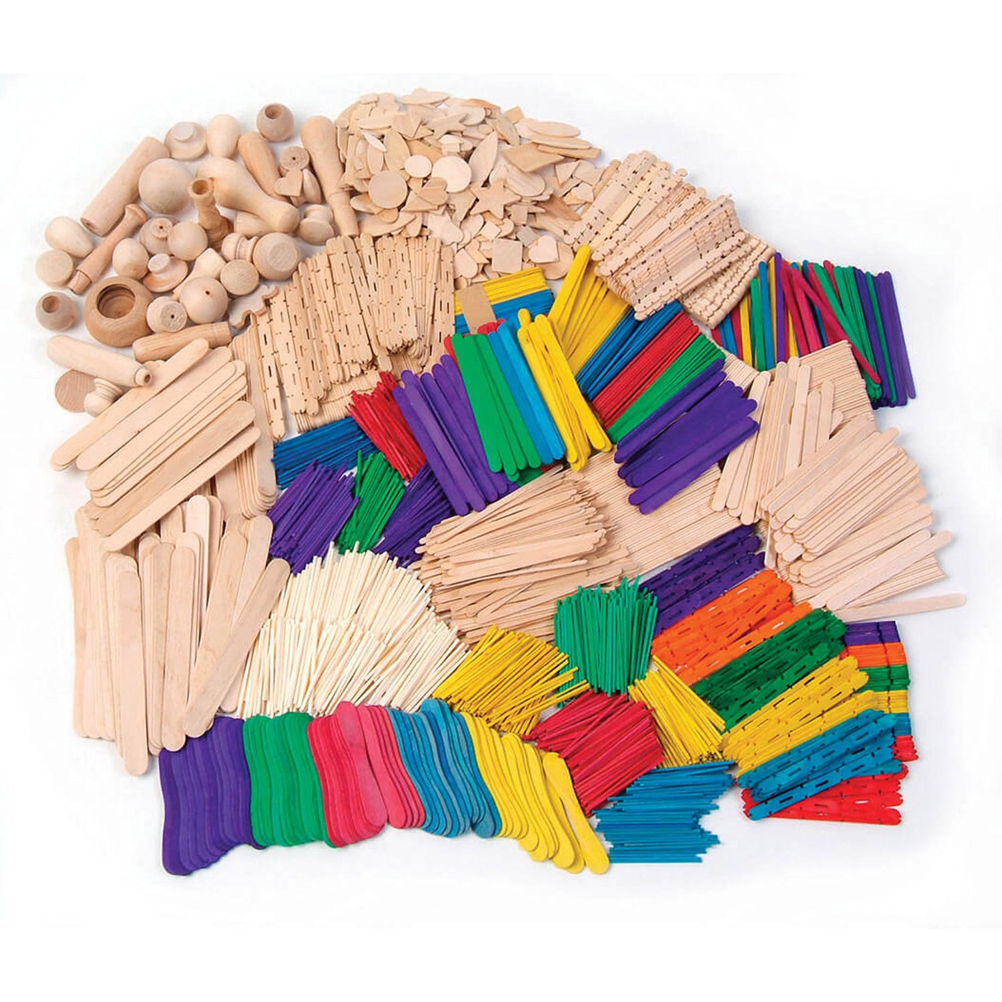 Creativity Street® Wood Crafts Activities Box