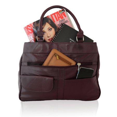 Big Hobo (AFONiE  Genuine Big bag Luxurious Fashion Soft Leather Shoulder)