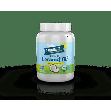 Carrington Farms Virgin Unrefined Coconut Oil, 54.0 FL OZ