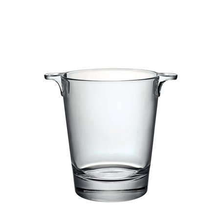 - Ypsilon Ice Bucket, Wine Tumbler Old Brio Oz Tongs AB16 758 Ounce Cappuccino Cup 12 Double Handle 4 Bucket 6 7 Glasses Acrylic 22 Set Wall 3375oz 4945Q401.., By Bormioli Rocco