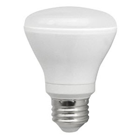 Dimmable R20 Cfl (TCP LED10R20D41K Single 10 Watt Frosted Dimmable R20 Medium (E26) LED Bulb -)