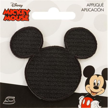 Disney Mickey Mouse Iron-On Applique-Mickey Mouse