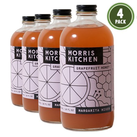 Morris Kitchen -Grapefruit Honey Mixer 16oz - (4pk)
